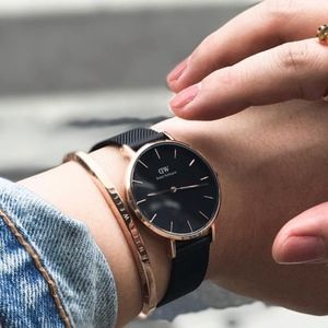 Daniel Wellington Watch & Cuff Bracelet